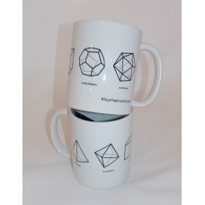 Platonic Solids mug