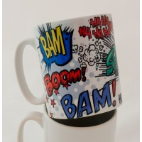 Comic Graphics Mug