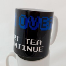 Game Over: Insert Tea To Continue Mug